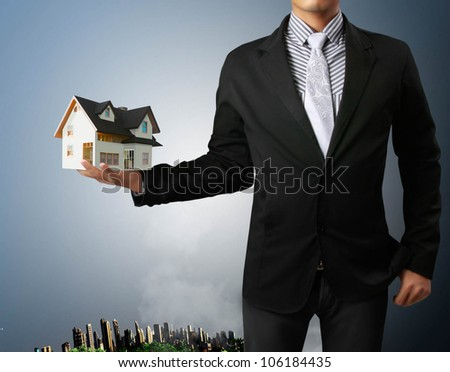 house in human a hands