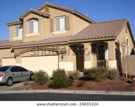 house in las vegas - stock photo