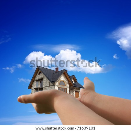 House in my hands