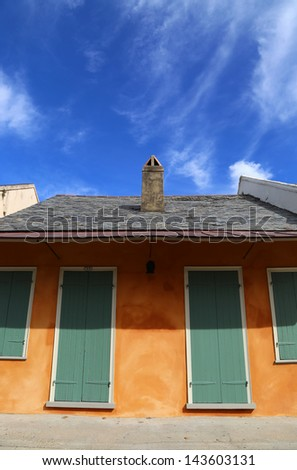 House in New Orleans  - stock photo