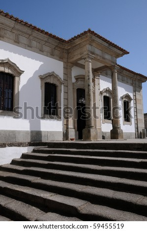 house in the city of Evora in Portugal