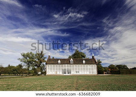 House in Woerlitzer Park in Germany, Unesco World Cultural Heritage