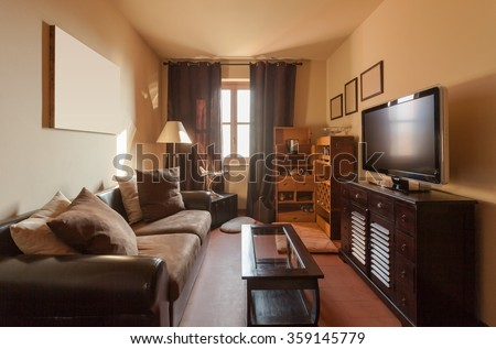 House Interiors Furnished Room Den