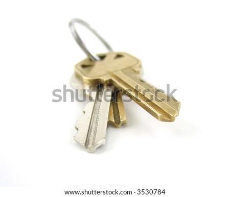 House keys - stock photo