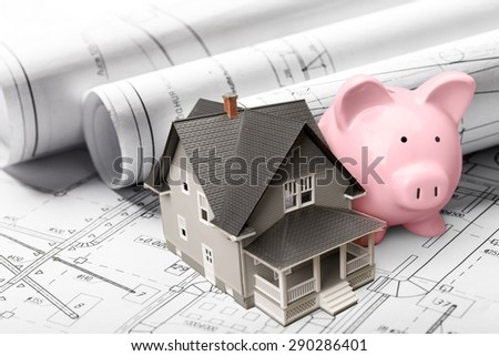 House, Loan, Savings. - stock photo