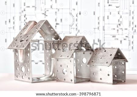 house model, idea, concept  - stock photo