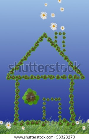 house of fortune - stock photo