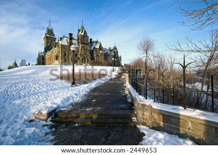 House of Parliament, Ottawa, Canada - stock photo