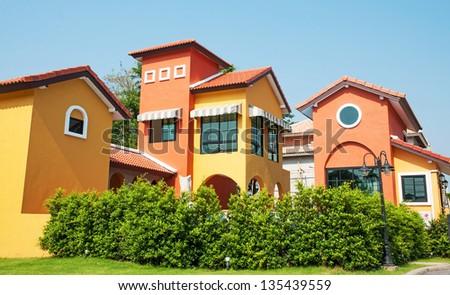 House of Tuscany style, Italy - stock photo