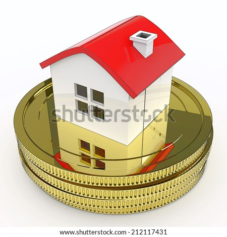 House On Money Meaning Purchasing And Selling Property