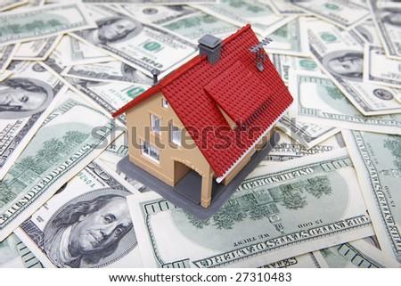 House on Money. See Portfolio For Similar Images - stock photo