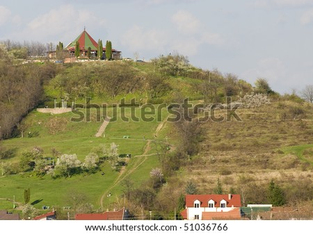 house on the hills