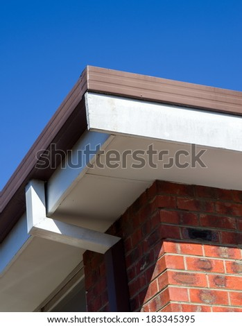 house roof details closeup