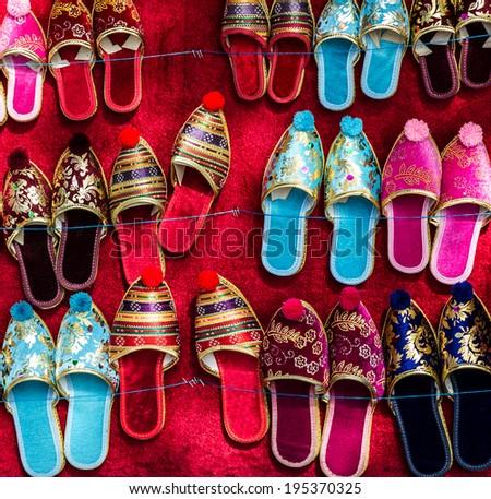 House sleepers in Turkish style  - stock photo