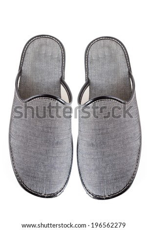 house slippers - stock photo