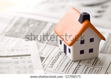 House to Sell - stock photo