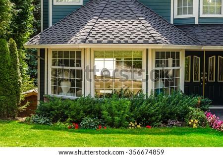 House window. - stock photo