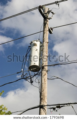 Household Electric Transformer Stock Photo (Royalty Free) 1793698 ...