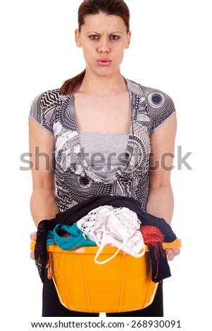 housekeeper - stock photo
