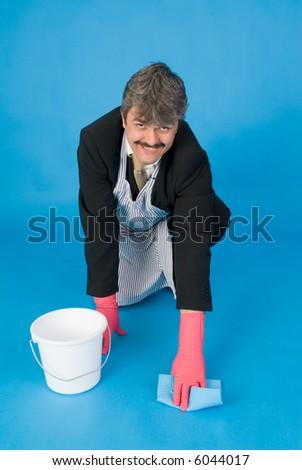 housemaker - stock photo