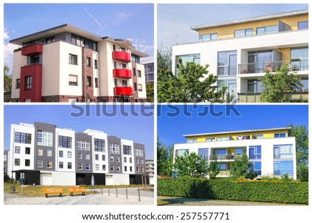 Houses - stock photo