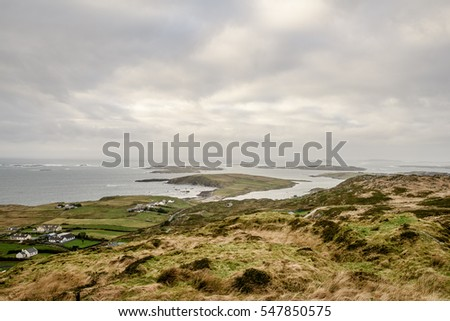 Houses at the Coast of Ireland