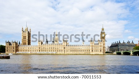 Houses of Parliament, London, Great Britain - stock photo