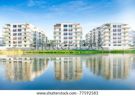 Housing - stock photo