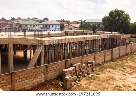 Housing Development in Accra Ghana