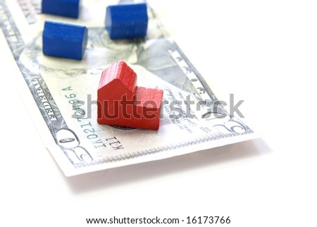 Housing, Mortgage, Foreclosure or Real Estate concept