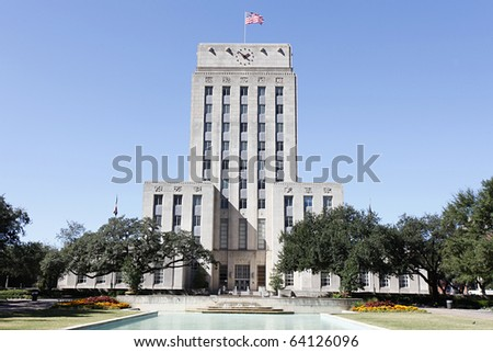 Houston City Hall - stock photo