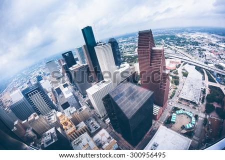 Houston Downtown - stock photo