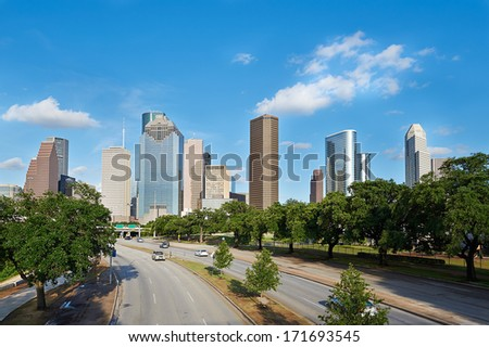 Houston, Texas. United States of America - stock photo