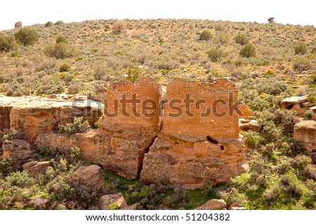 Hovenweep National Monument native american indian ruins and canyon