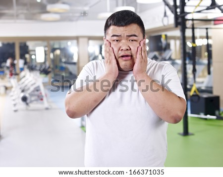 how am i gonna lose this weight! - stock photo