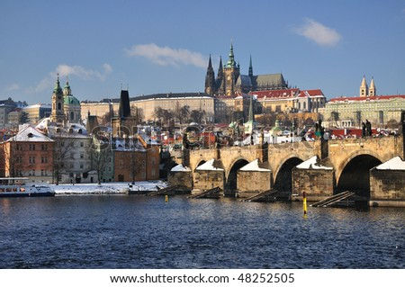 Hradcany and Prague Castle panorama