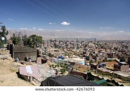 Huancayo view - stock photo