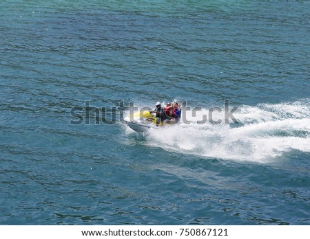 Jet Water Bike Stock Images Royalty Free Images Vectors