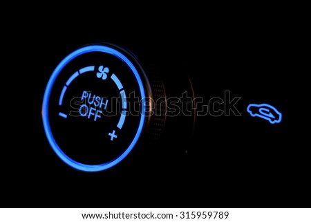 Hud - Illuminated on-off button