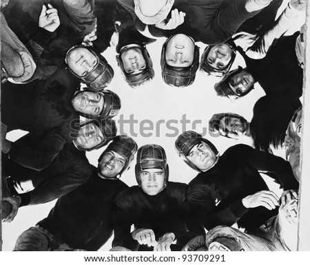 HUDDLE - stock photo
