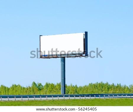 Huge Billboard - stock photo