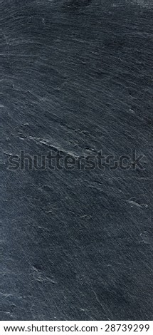 huge image of natural black slate btexture background - stock photo