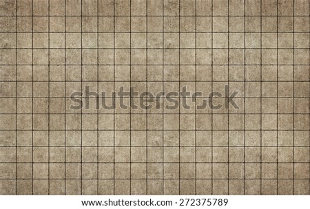 Huge old rough concterte tiles seamless pattern - stock photo