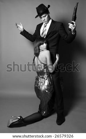 Hugging - stock photo