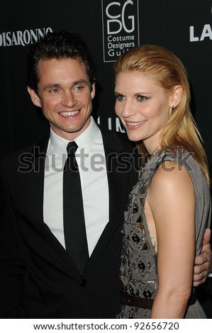 Hugh Dancy and Claire Danes at the 13th Annual Costume Designers Guild Awards, Beverly Hilton Hotel, Beverly Hills, CA. 02-22-11