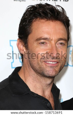 "Hugh Jackman at Hugh Jackman ""One Night Only,"" Dolby Theater, Hollywood, CA 10-12-13 - stock photo"