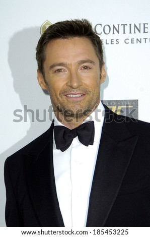 Hugh Jackman at The 5th Annual A Fine Romance Gala to Benefit the Motion Picture & Television Fund, 20th Century Fox, Los Angeles, CA May 1, 2010 - stock photo