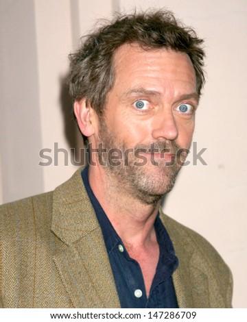 "Hugh Laurie ATAS Inside ""House"" Panel ATAS Headquarters No Hollywood, CA January 18, 2006 - stock photo"