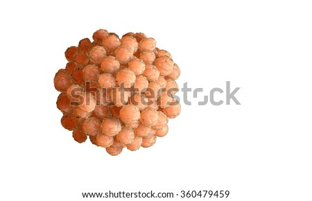 Human egg cell. Sperm, spermatozoon, floating to ovule. pregnant wooman , medical anatomy concept - stock photo