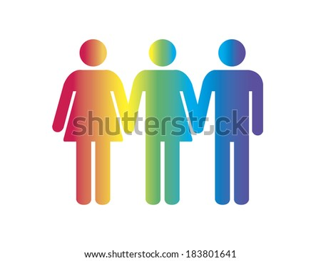 Human gender - stock photo